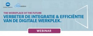 WEBINAR : Improve the Integration and Efficiency of your Digital Workplace